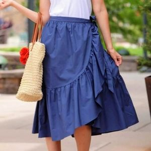 Assymetrical Wrap Skirt